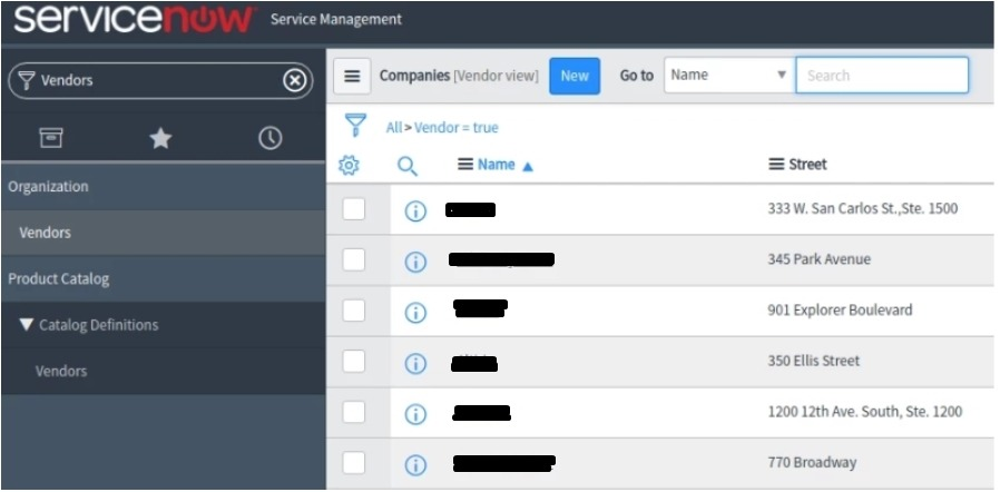 ServiceNow integration guide for virtual appliance