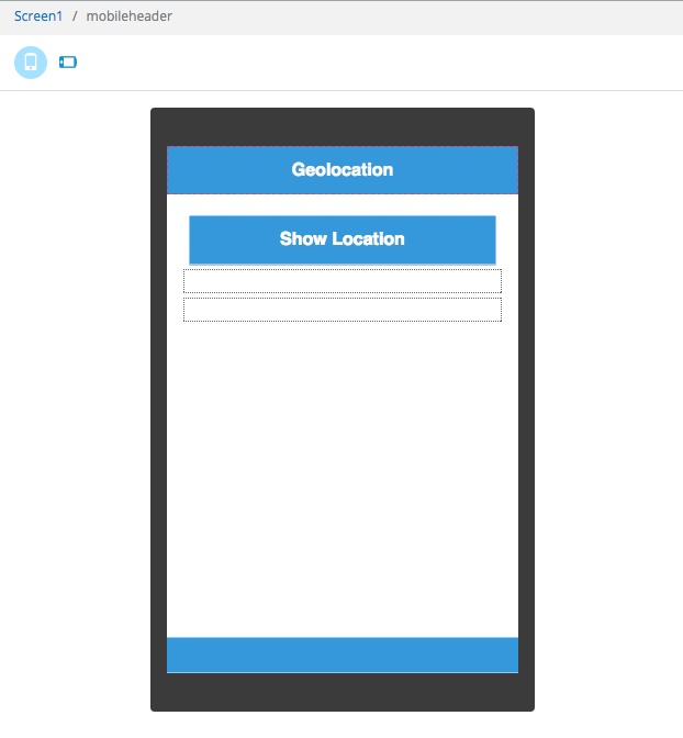 Geolocation page.