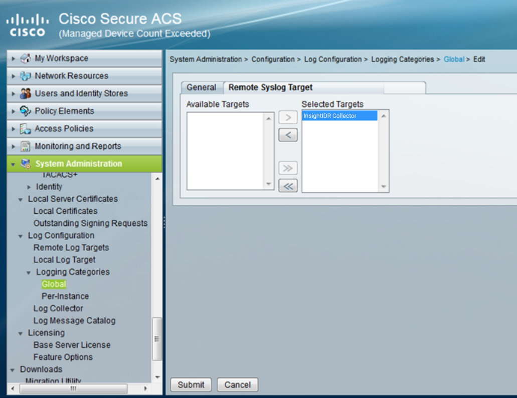 Cisco ACS