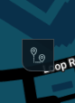 The waypoint button allows you to drop a navigation waypoint for your robot on a map.
