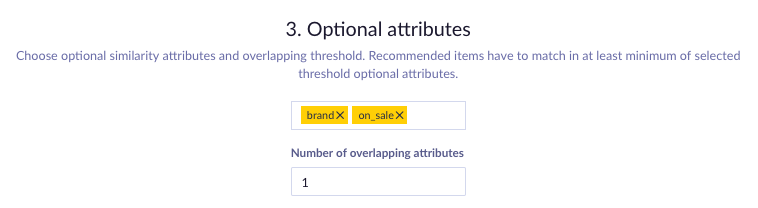 Example of Optional attributes picker + overlap