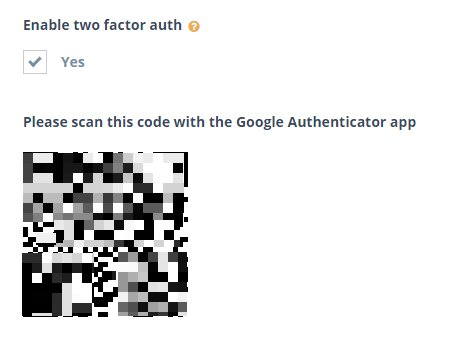 Step 3: Scan the QR code
