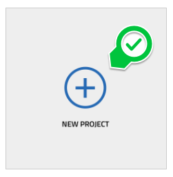 Select New Project