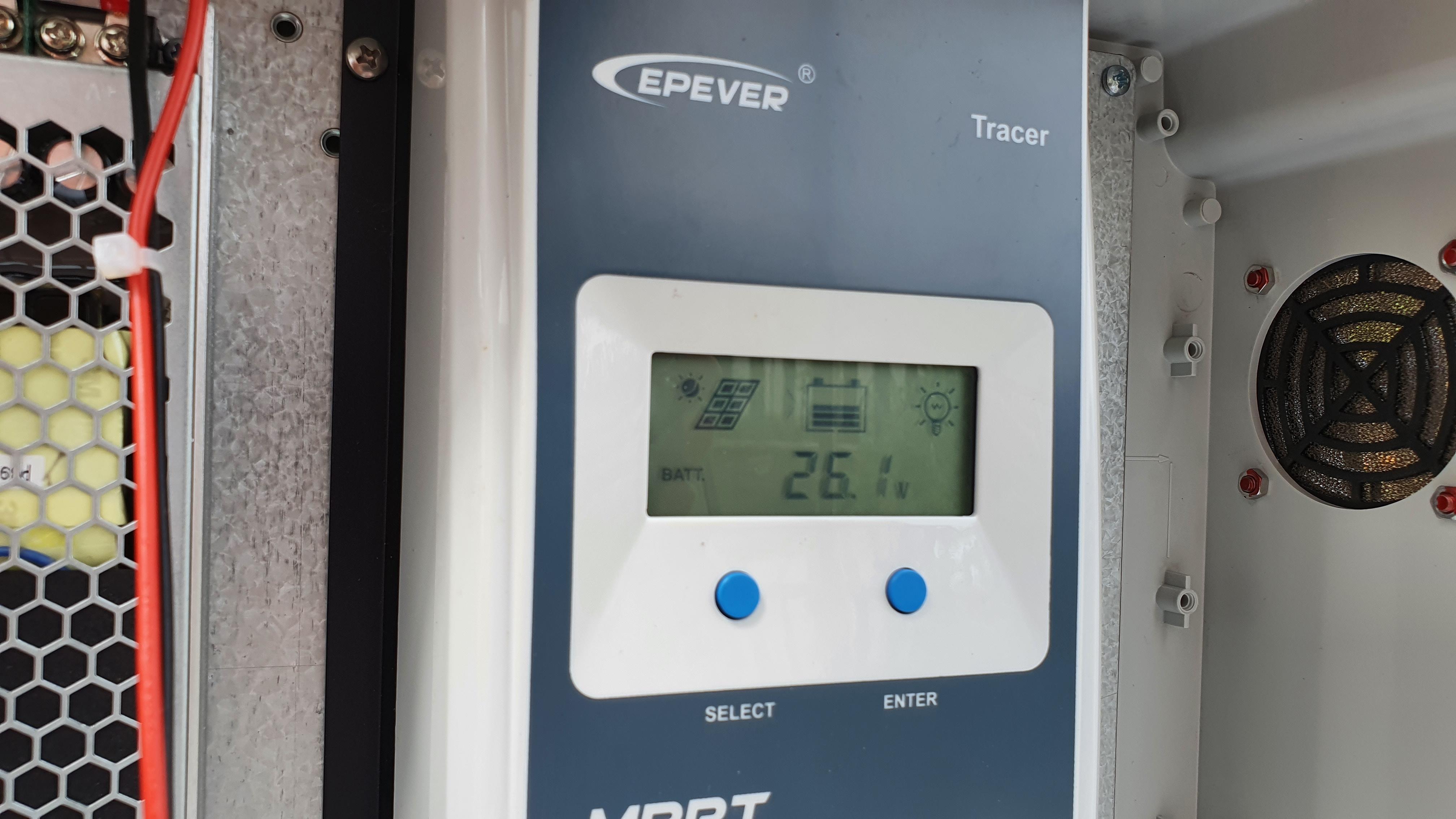 Vérification de l'état de fonctionnement des batteries suite à l'opération