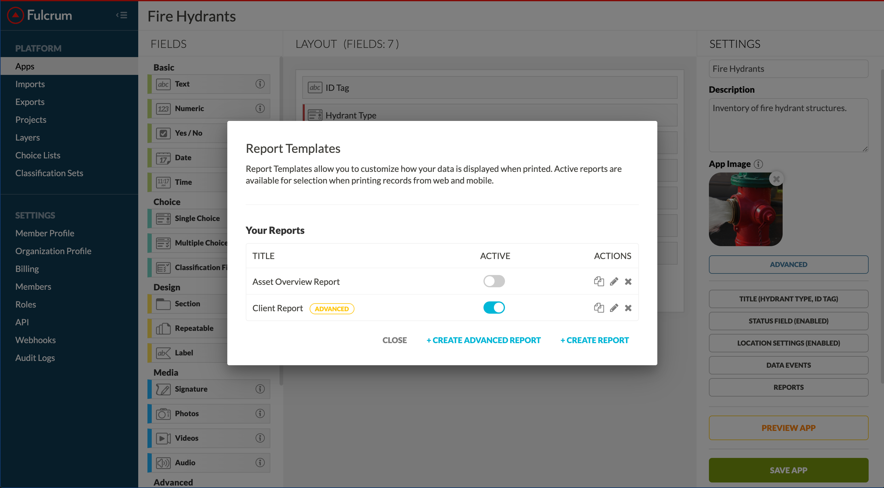 Report Template Manager