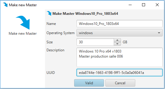 new) Installing a master via an ISO image · ceBox