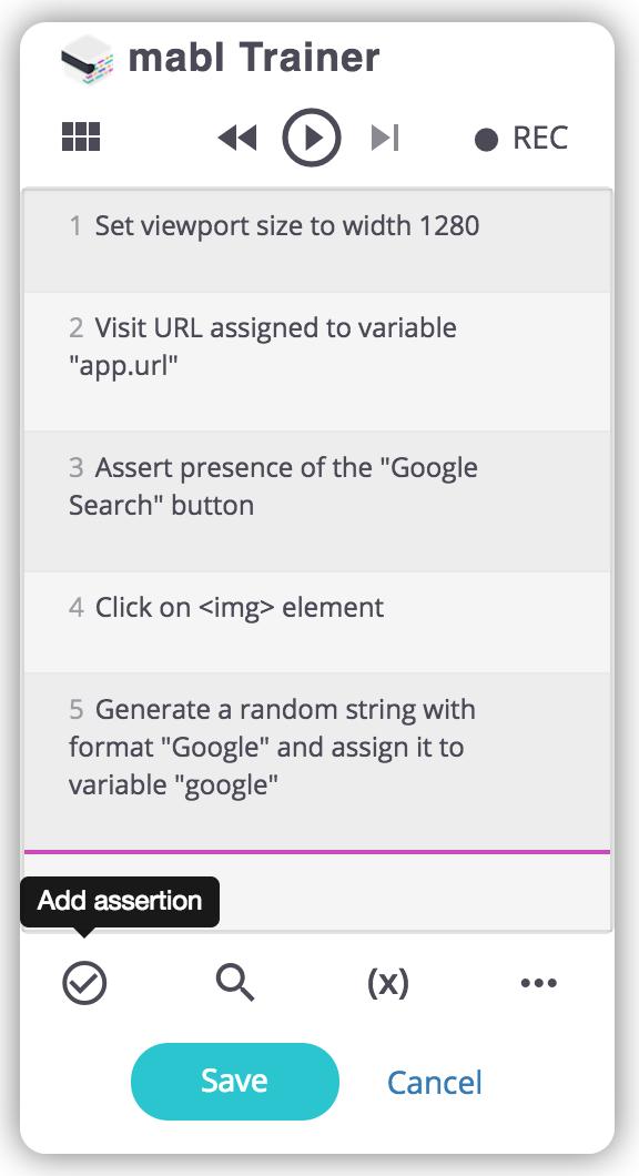 URL assertions