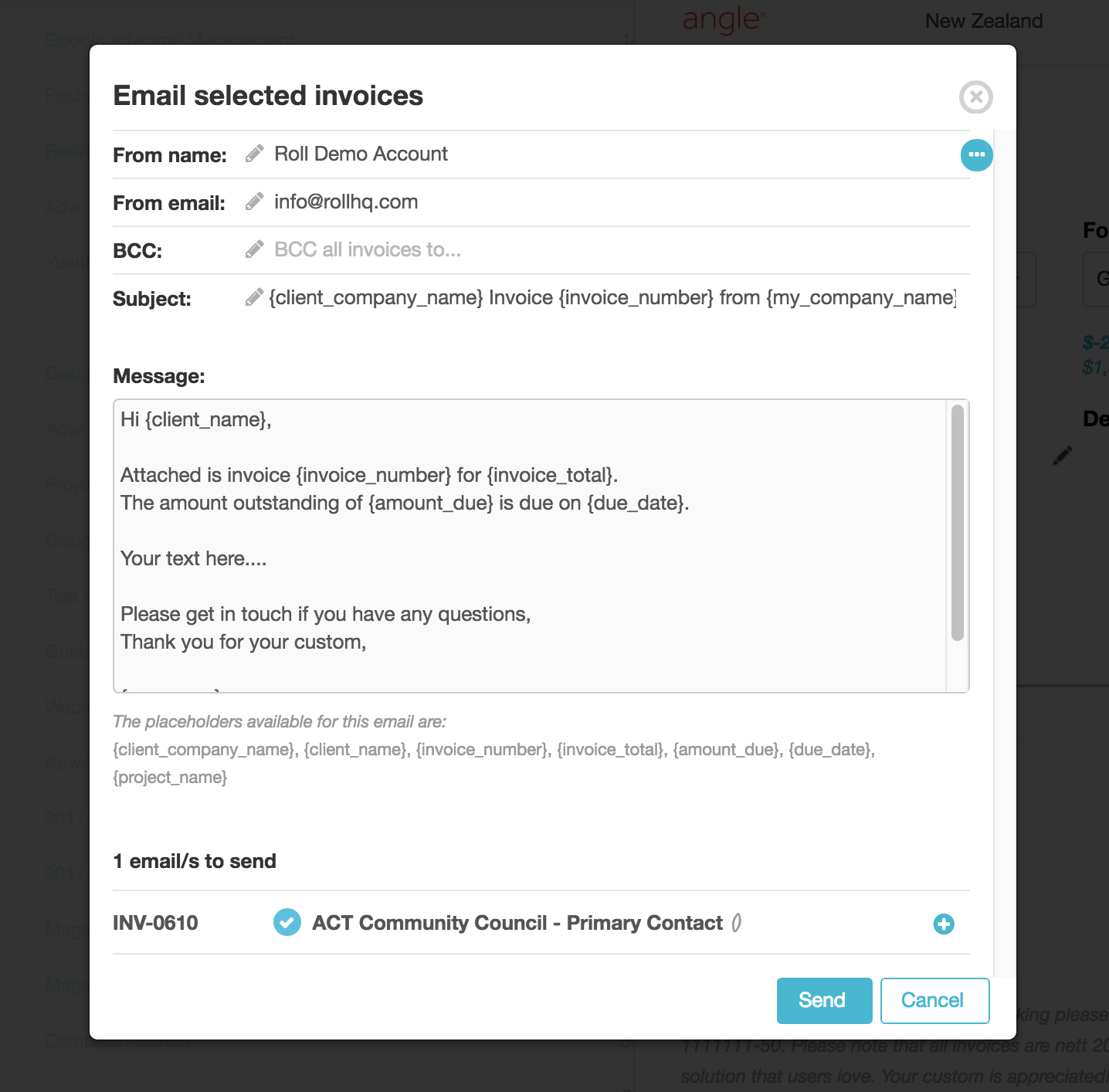 Default Email Template