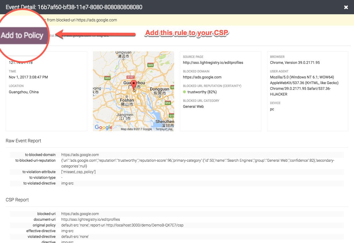 CSP Configuration