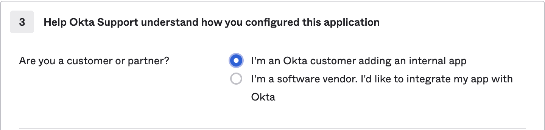 Okta feedback form