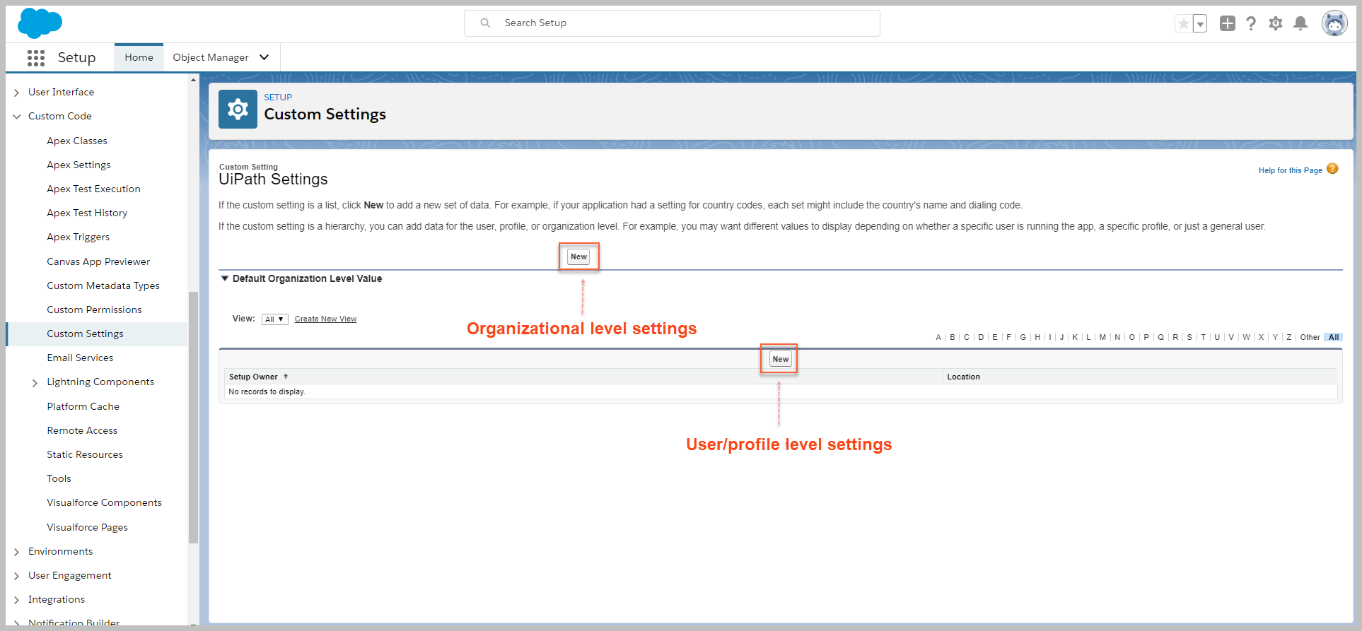 Configure Orchestrator Notifications step 2 differences