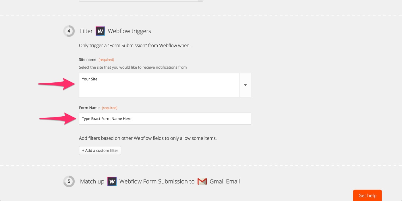 Webflow Integration: Save new leads from Outgrow in Webflow