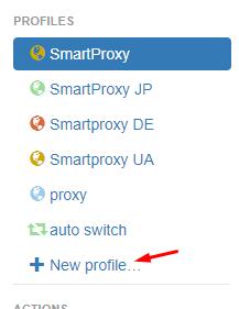 SwitchyOmega new profile