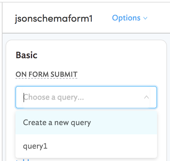 Create forms for databases