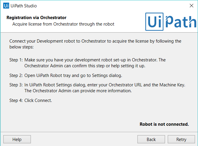 Uipath activate robot license | UiPath Licensing  2019-05-12