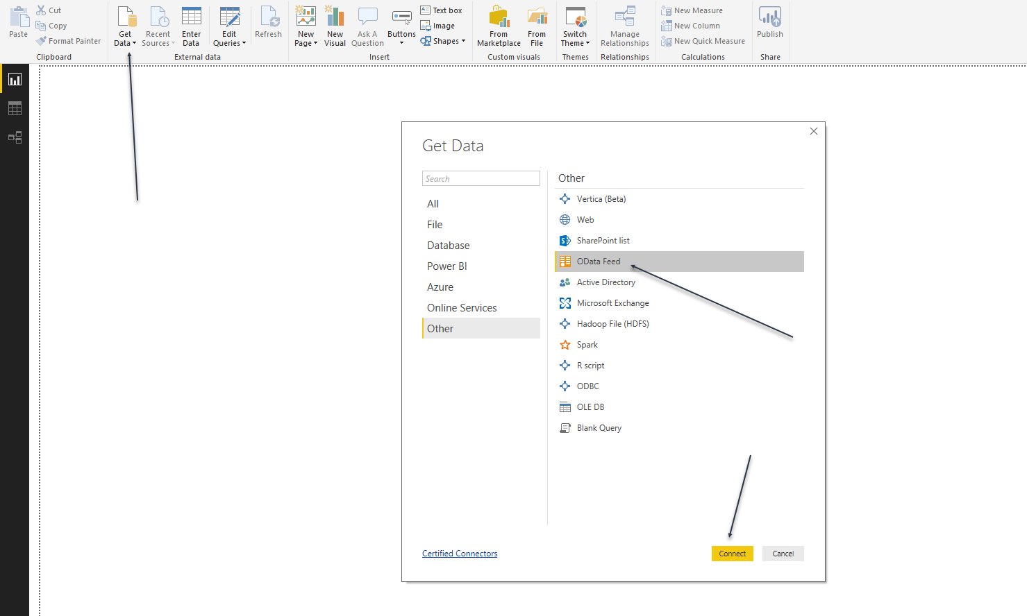 OData with Power BI