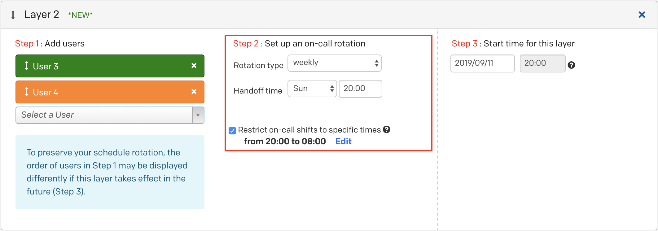 Weekend On Call Schedule Template from files.readme.io