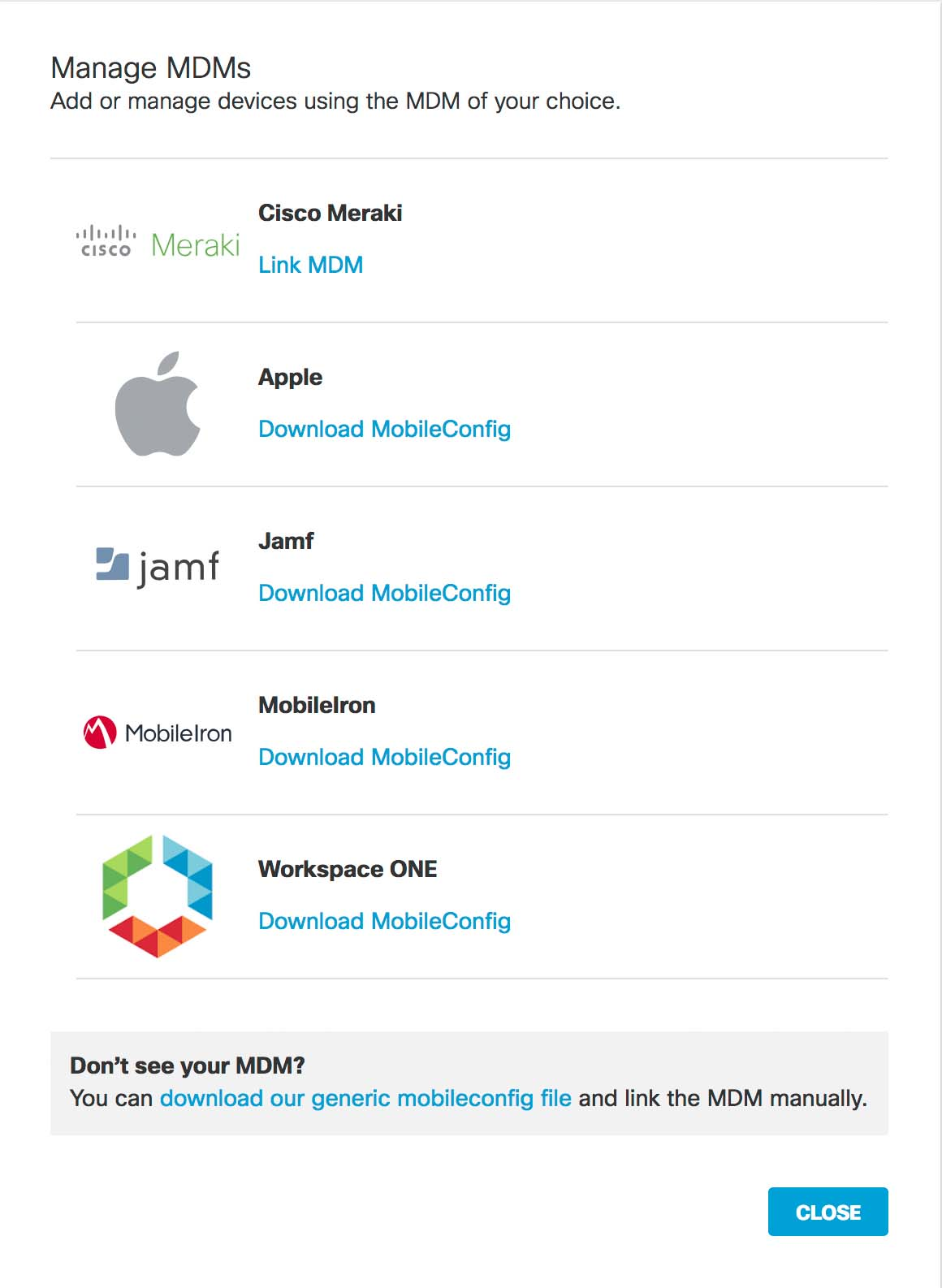 Register an iOS Device Through a Generic MDM System