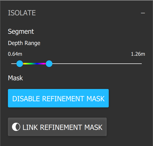 Link Refinement Mask