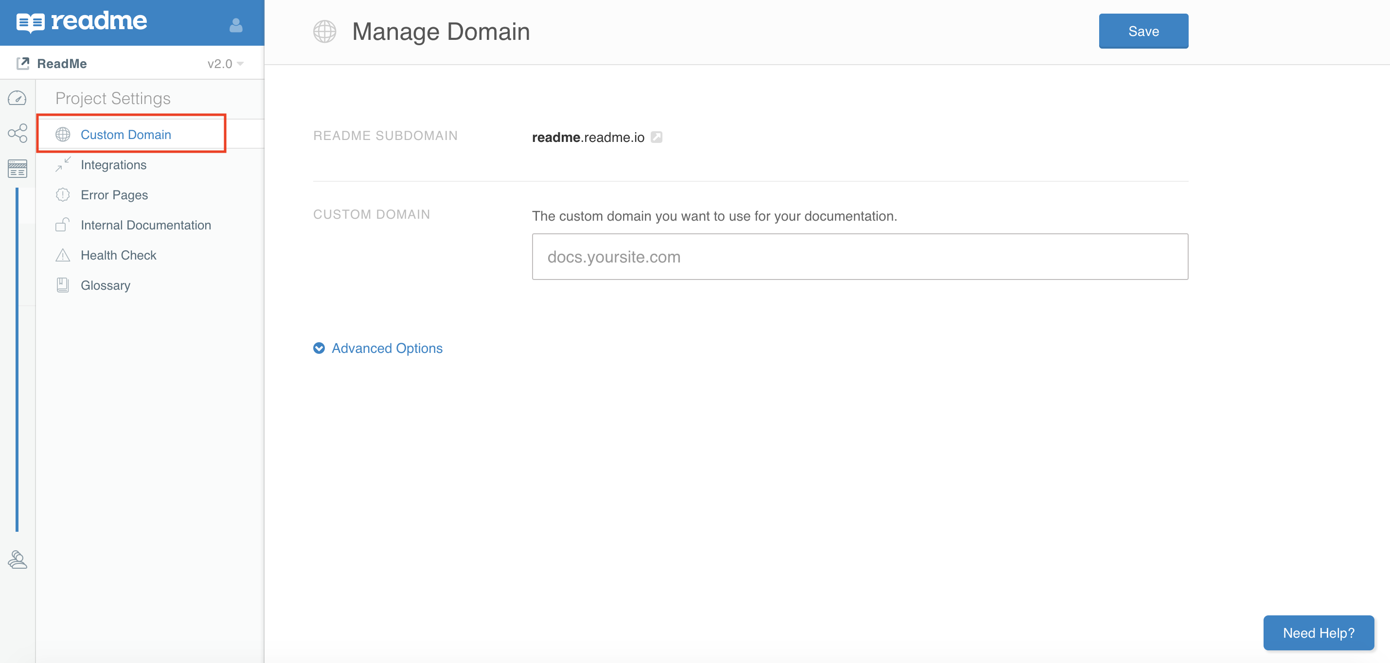 Setting Custom Domain Ssl
