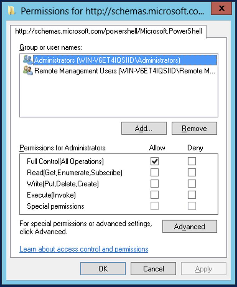 KB: Windows Remote Management
