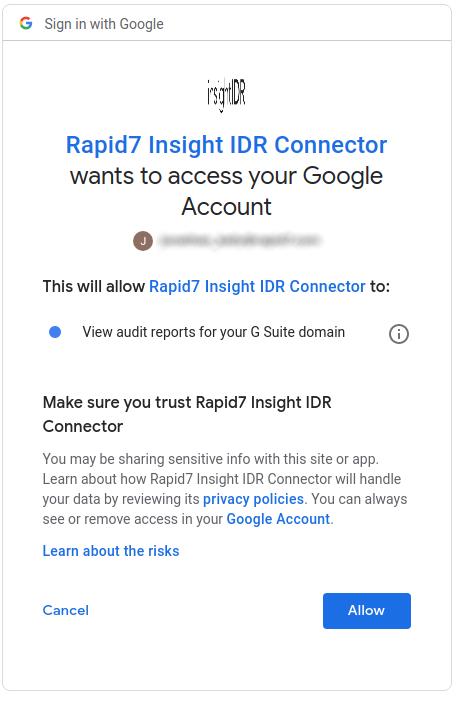 cancel google apps account