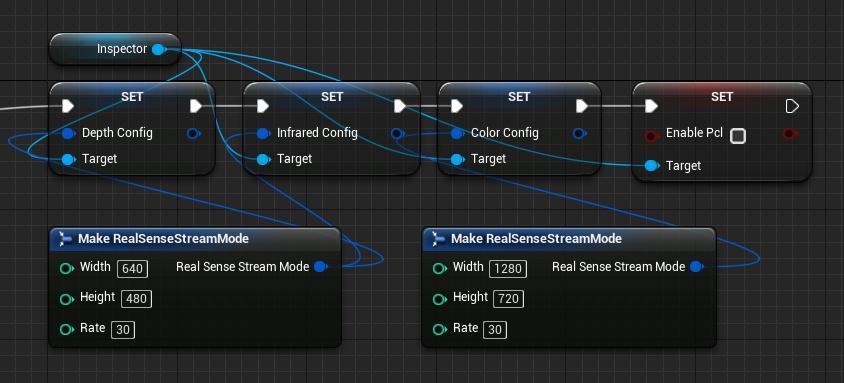 Modify stream mode blueprint