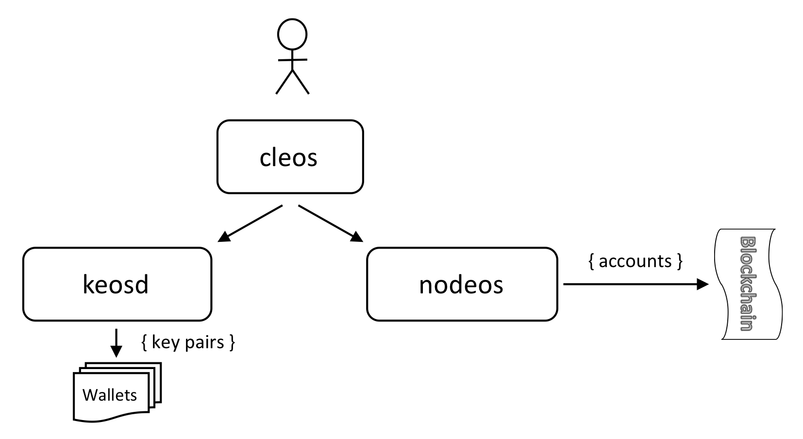 Learn about Keys, Wallets and Accounts with cleos