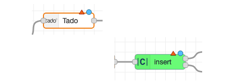 Double click the unconfigured nodes to complete the configuration