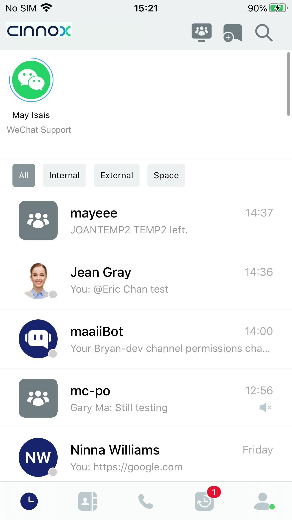 WeChat Enquiry