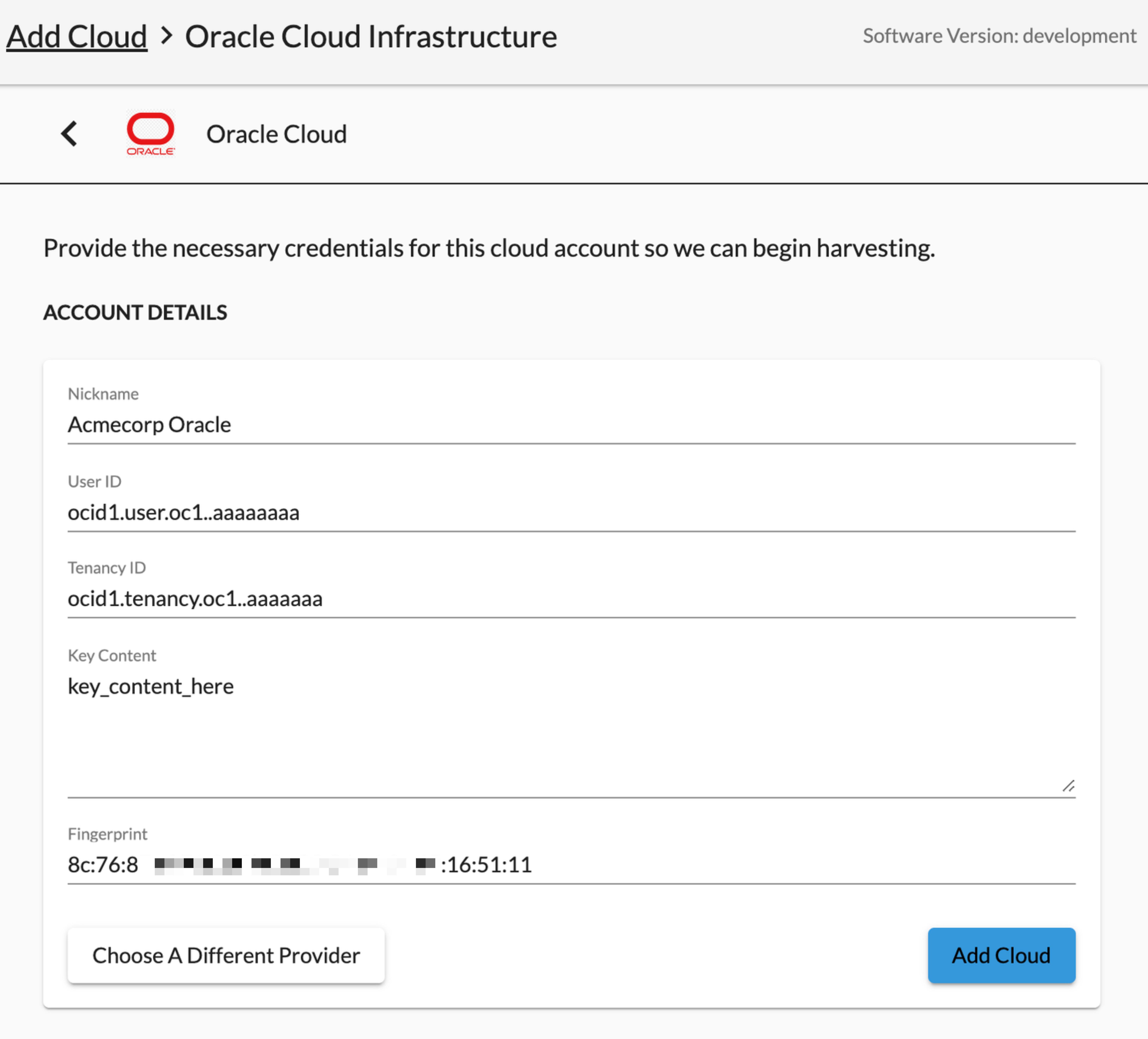 InsightCloudSec - Add a Cloud