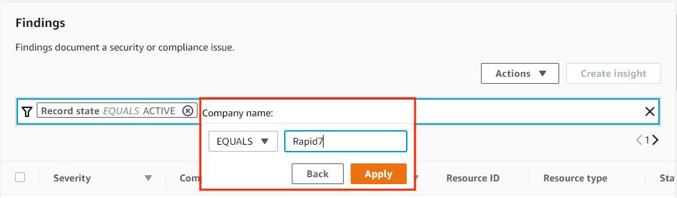 AWS Security Hub