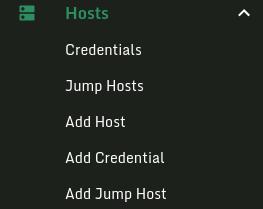 Host Side Bar