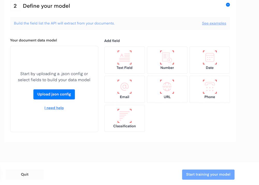 Document data model