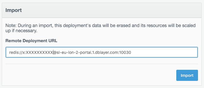 Adding a remote deployment URL.