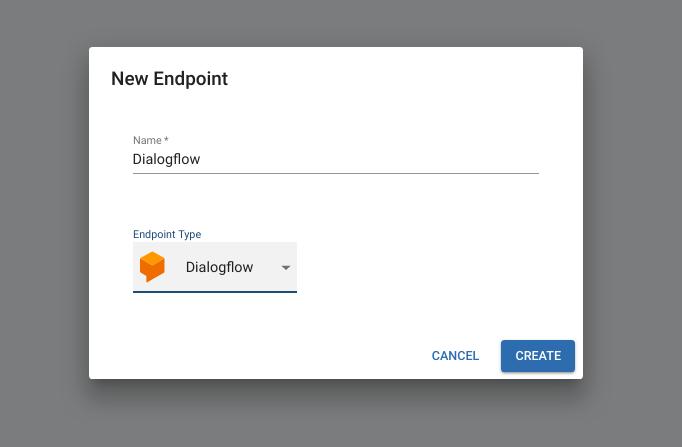 Deploy a Dialogflow Endpoint