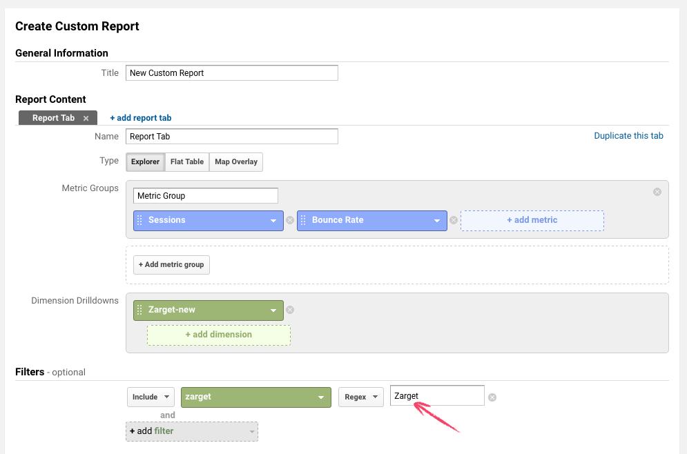 Creating Custom Report