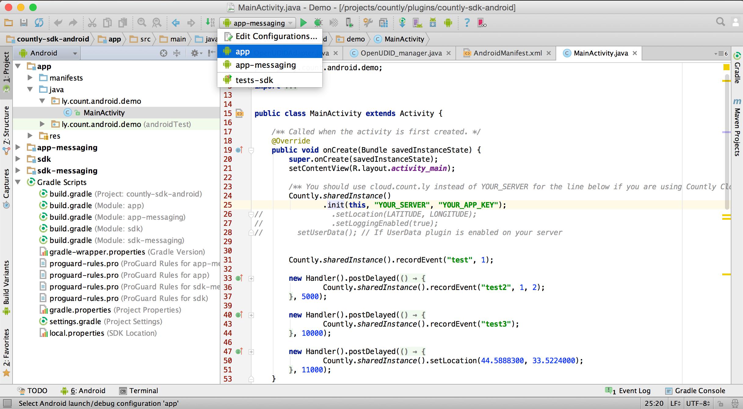 Downloading & Installing SDKs