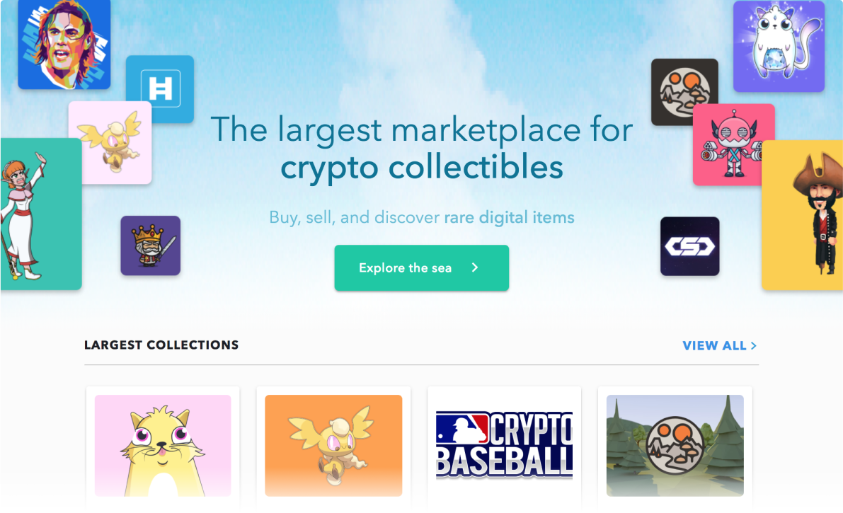We have over 1.2M collectibles on our site, growing every day