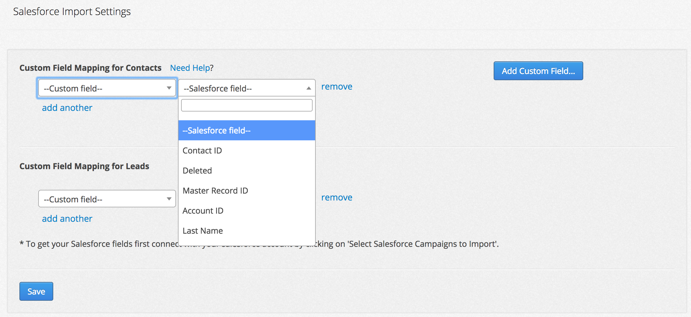 how to add custom field on task page salesforce