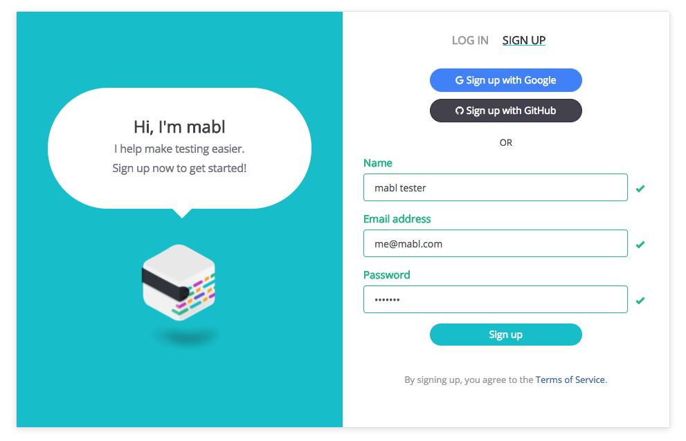 Illustration using email + password authentication option