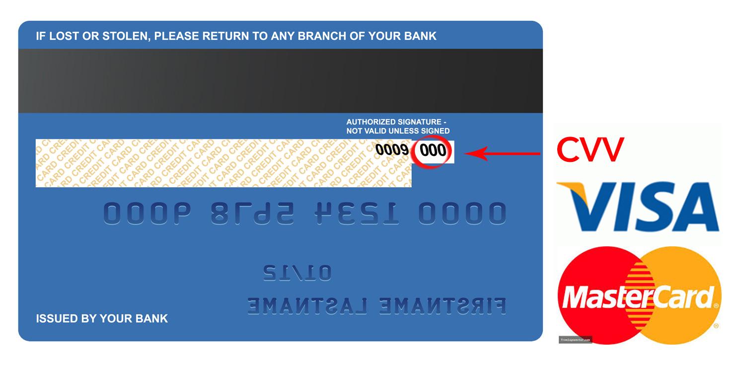 Cvv Number On Debit Card Bpi | Kayacard co