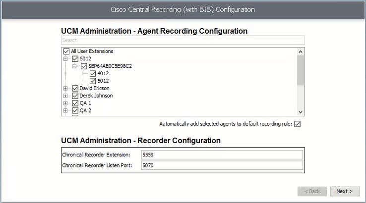 Cisco - Server Installation