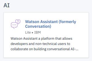 Watson Assistant