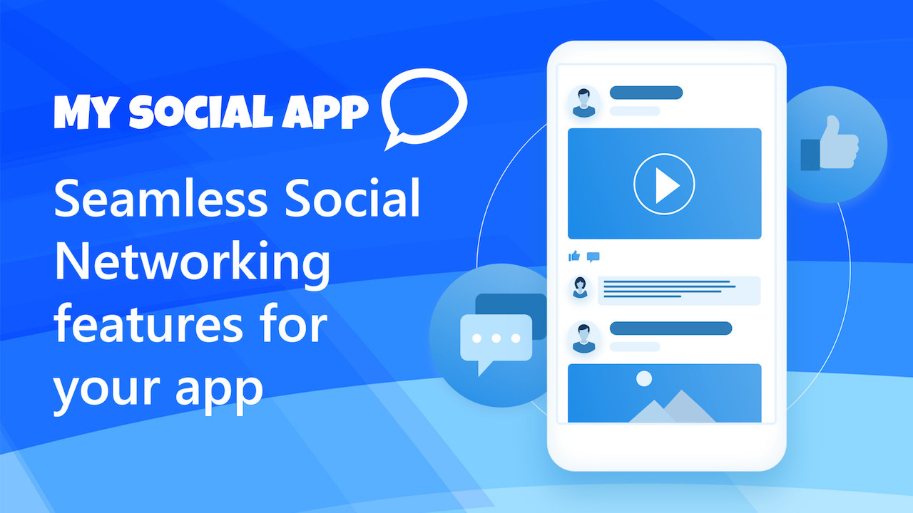Samless Social Networking features for your app