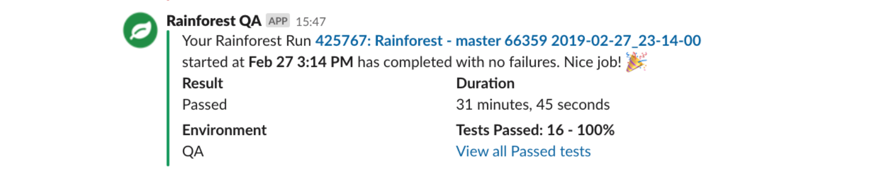 [Test Results Notification]