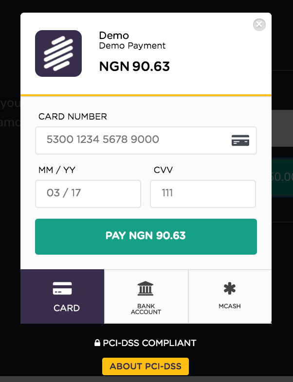 At a glance rave provides card, account and offline payments for your customers by embedding one pay button.