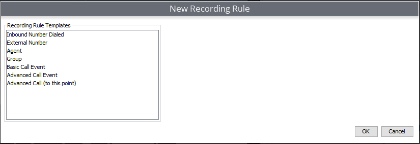 Manage Recording Rules