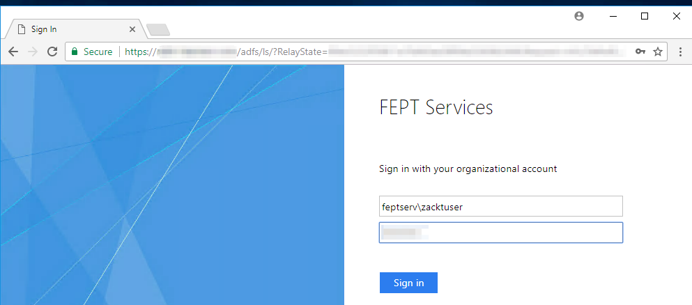 Integrating with Microsoft ADFS · Frame Documentation