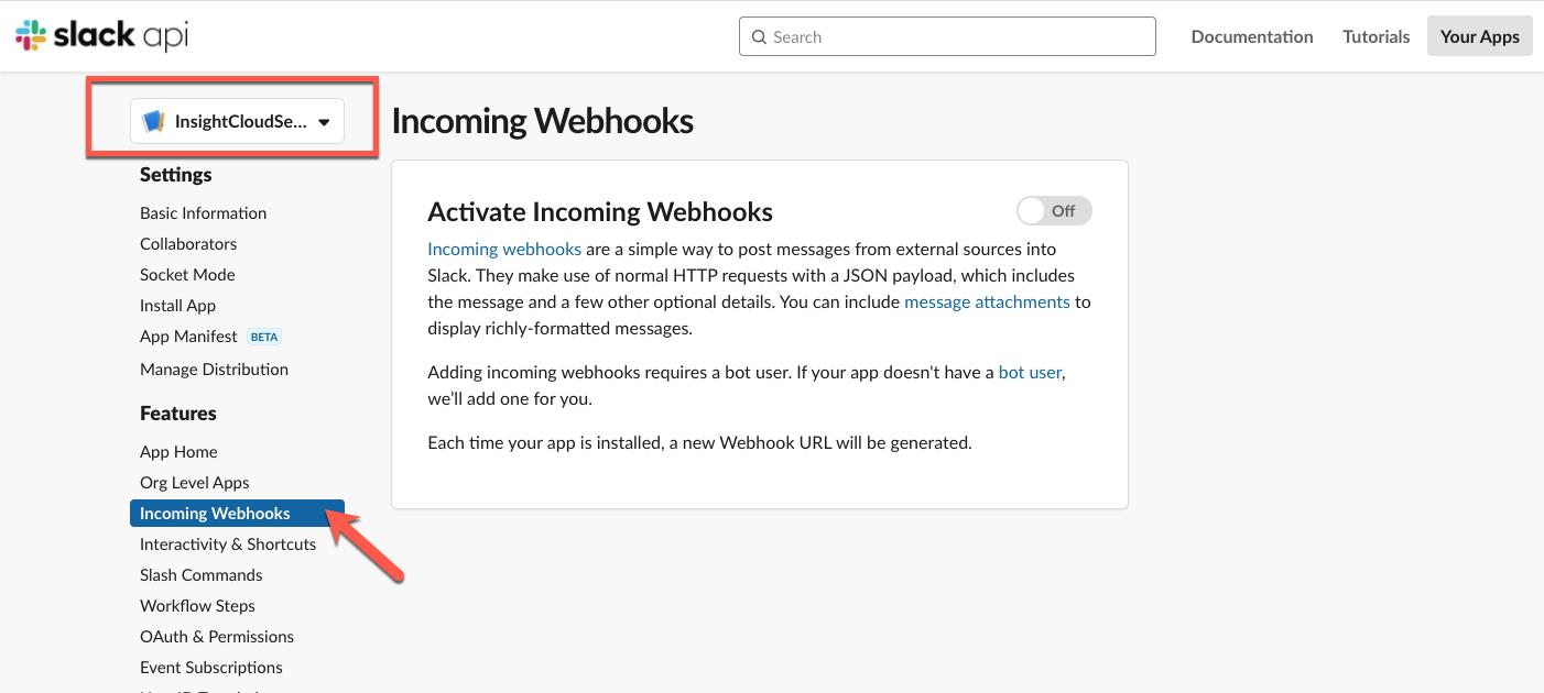 Activating Webhooks
